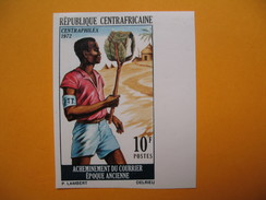 Timbre Non Dentelé  N° 182  Centraphilex 1972 - Central African Republic