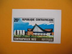 Timbre Non Dentelé  N° 183  Centraphilex 1972 - Central African Republic