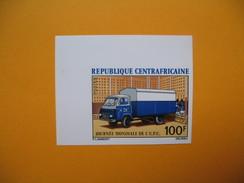 Timbre Non Dentelé  N° 184  Journée De L'U.P.U.  1972 - Central African Republic