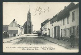 D.V.D. Notre Dame Au Bois. Place De L' Eglise. DVD N°11610. Café Restaurant à La Vieille Barrière.  Animée. 2 Scans. - Overijse