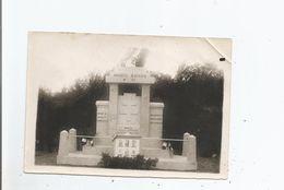 JUILLENAY (COTE D'OR) PHOTO DU MONUMENT AU  MAQUIS BAYARD 4 E CIE  (MORTS POUR LA FRANCE EN 1944) - War, Military