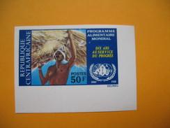 Timbre Non Dentelé  N° 196  Programme Alimentaire Mondial  1973 - Central African Republic