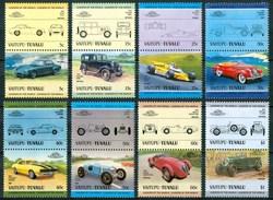 1984 Vaitupu (Tuvalu) Automobili Cars Voitures Set MNH** B536 - Tuvalu