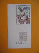 Timbre Non Dentelé  N° 219  26 ème Anniversaire De L'Organisation Mondiale De La Santé  1974 - Centrafricaine (République)