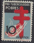 España 0840 ** Tuberculosos.1937. Centrajde De Lujo - 1931-50 Nuevos & Fijasellos