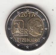 LUXEMBOURG - 50 Joer Fraiwellegen Armei, 2 Euro Coin 2017, Unused - Luxembourg