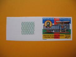 Timbre Non Dentelé  N° 236  Ministère Des Affaires Etrangères  1975 - Centrafricaine (République)
