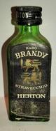 Mignon - Raro Brandy Stravecchio - Herton - Miniatures