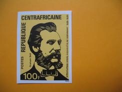 Timbre Non Dentelé  N° 256  Centenaire De La Première Liaison Téléphonique  1976 - Centrafricaine (République)
