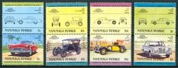 1984 Nanumaga (Tuvalu) Automobili Cars Voitures Set MNH** B537 - Tuvalu