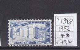 30ª Fiera Di Milano - 12 Aprile 1952 - Altre Collezioni