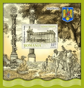 Romania 2010 / Danube's Coat Of Arms (II) / Souv. Sh. - Navigation Palace / Galati - Timbres