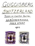 SWITZERLAND, Guggisberg, Used, F/VF - Fiscaux