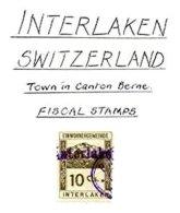 SWITZERLAND, Interlaken, Used, F/VF - Fiscaux