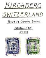SWITZERLAND, Kirchberg, Used, F/VF - Fiscaux