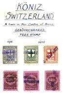 SWITZERLAND, Köniz, Used, F/VF - Fiscaux