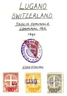 SWITZERLAND, Lugano, Used, F/VF - Fiscaux