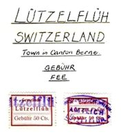 SWITZERLAND, Lützelflüh, Used, F/VF - Fiscaux