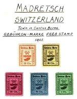 SWITZERLAND, Madretsch, * MLH, F/VF - Fiscaux
