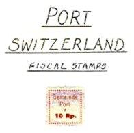 SWITZERLAND, Port, Used, F/VF - Fiscaux