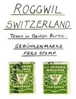 SWITZERLAND, Roggwil, Used, F/VF - Fiscaux
