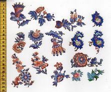 CHROMOS DECOUPIS A12 FLEURS - Flowers