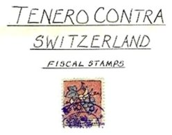 SWITZERLAND, Tenero-Contra, Used, F/VF - Fiscaux