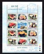 Korea 1991 Mushrooms MNH - Planten