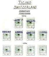SWITZERLAND, Ticino, Used, F/VF - Fiscaux