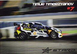 FIA World Rallycross Championship 2017  -  Timur Timerzyanov  -  Ford Fiesta R5  -  Carte Promo - Rallyes