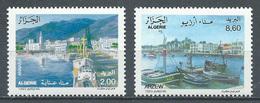 Algérie YT N°1050/1051 Ports D'Algérie Neuf ** - Algeria (1962-...)