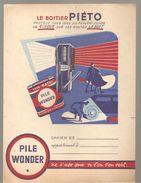 Protège Cahier WONDER Le Boitier Piéto Pile Wonder - Protège-cahiers