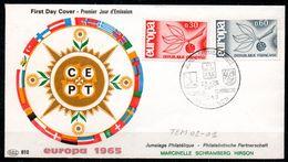 TEM02-01 : Dept 02 (Aisne) HIRSON 1965 > Jumelage Philatélique MARCINELLE SCHRAMBERG HIRSON - Postmark Collection (Covers)