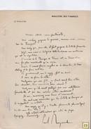 Courrier  Polycopié  De Paul Reynaud  Ministre Des Finances Bon D'armement 1940 - Documents Historiques