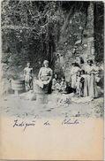 CPA Colombie Colombia écrite Types Ethnic Lessive Laveuse Lavandière - Colombia
