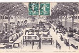 CPA Publicitaire Publicité (33) BORDEAUX Exposition Maritime Intérieur Du Grand Palais - Bordeaux