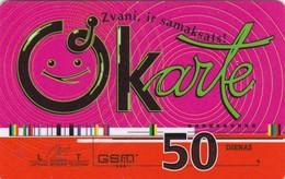 Latvia, LV-LMT-OKA-0007, OKarte 50, 2 Scans. - Latvia