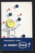 """1958 Publicité / Catalogue Publicitaire Très Illustré De Figurines  """"Connaissez-vous Les Produits ESSO ? """" Voir Table .. - Publicités"""