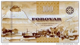 FAEROE P. 30 100 K 2011 UNC - Faroe Islands
