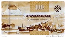 FAEROE P. 30 100 K 2011 UNC - Faeroër