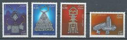 Algérie YT N°1009/1012 Bijoux Du Sud Touaregs Neuf ** - Algeria (1962-...)