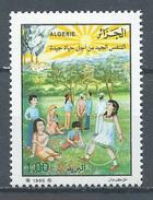 Algérie YT N°992 Lutte Contre Les Maladies Respiratoires Neuf ** - Algeria (1962-...)