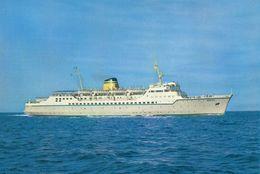 """Bateaux Paquebots Croisières Ferry """"Egnatia"""" Hellenic Mediterranean Lines - Dampfer"""