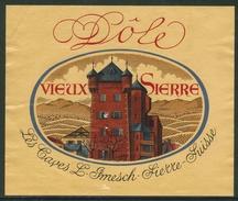 Rare // Etiquette // Dôle, Vieux Sierre, Caves Imesch,Sierre, Valais,Suisse - Etiquettes