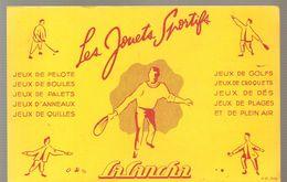 Buvard LA CANCHA Jouets Sportifs Jeux De Pelote, Boules, Palets, Etc... - Sports