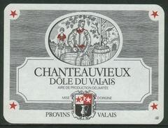 Rare // Etiquette // Dôle Du Du Valais, Provins, Valais, Suisse - Etiquettes