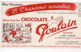 Oct17   79980   Buvard    Chocolat Poulain   Bon Voyage Monsieur Dumolet - Chocolat