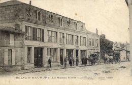 51 HEILTZ-LE-MAURUPT - La Maison RODIER - Très Animée, Diligence - Carte Précurseur - France