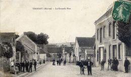 51 TROISSY - La Grande Rue - Très Animée, âne - France