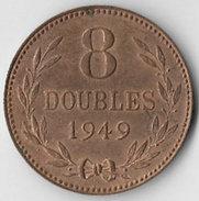 Guernsey 1949 8 Doubles [C621/2D] - Guernsey